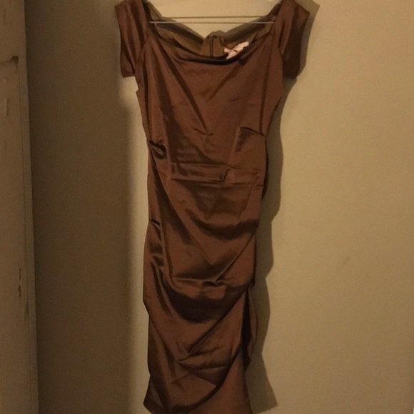 issue Dresses & Skirts - Copper cocktail dress